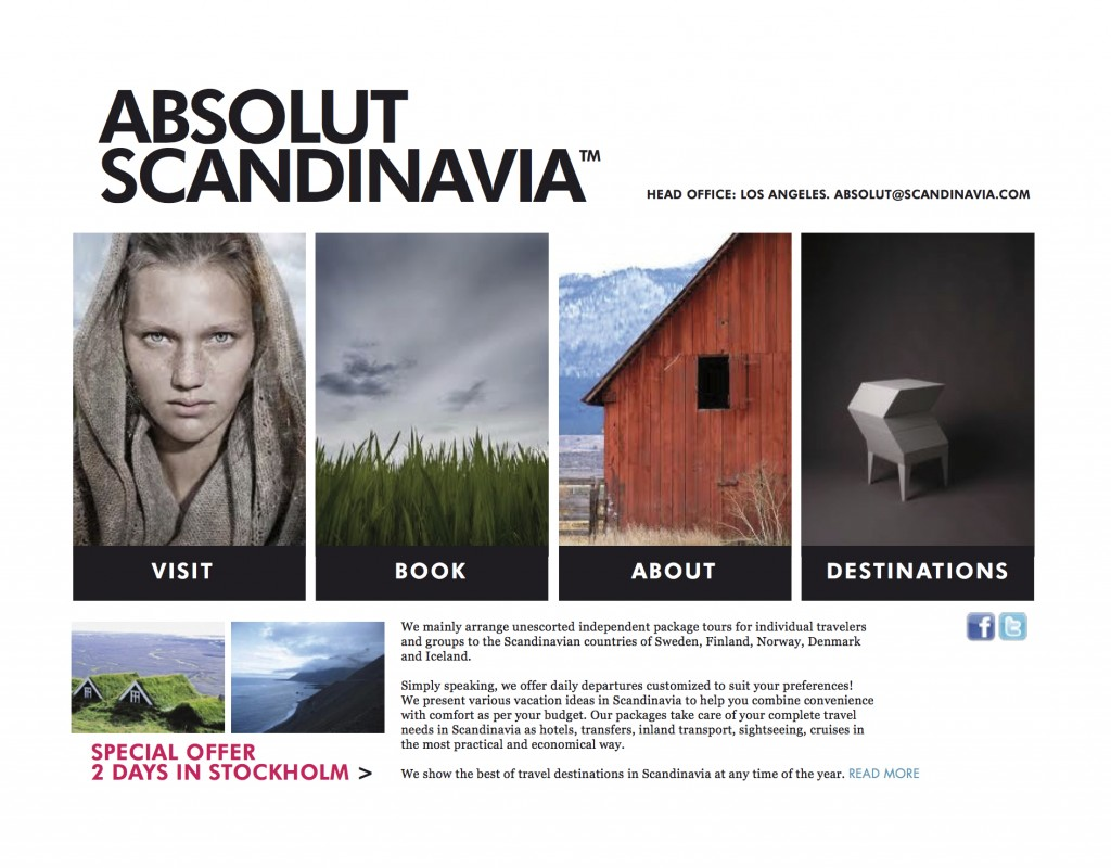 ABSOLUT SCANDINAVIA